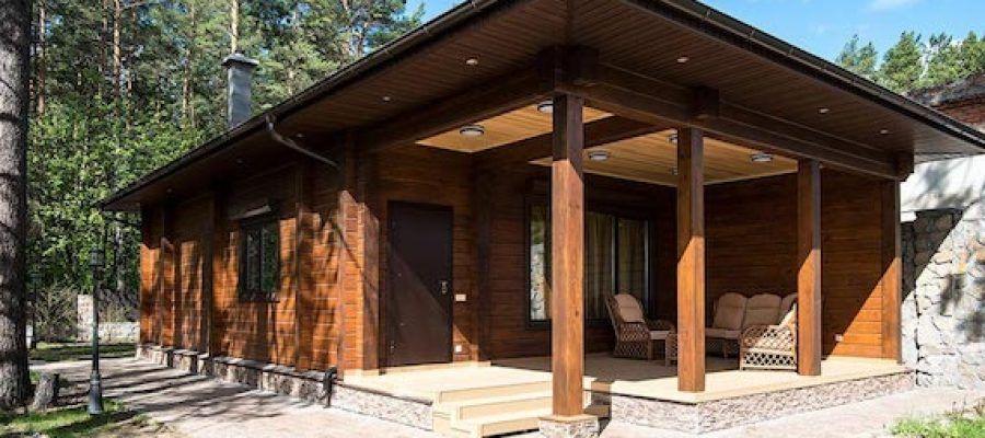 Дома и бани из клееного бруса: надежный и красивый материал 3