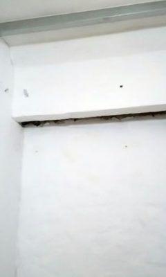 Переделка встроенного шкафа 1