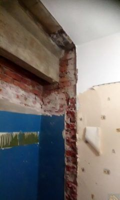 Переделка встроенного шкафа 2