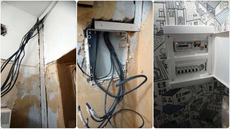 Перенос электросчётчика🔴 Перенос электросчётчика