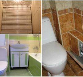 Как правильно спрятать трубы в туалете и ванной