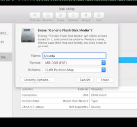 Ubuntu на USB