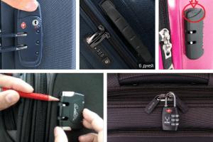 Как сменить код на замке портфеля, сумки или чемодана