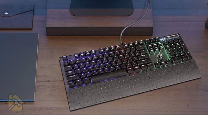 Azio MGK1K обзор и отзывы о клавиатуре 🔴 Лучшая механическая клавиатура ТОП 10