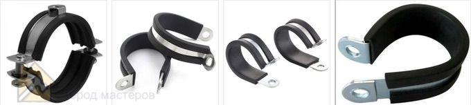 Резиновая лента и хомуты для шлангов для ремента пластиковых труб 🔴 5 способов ремонта труб из ПВХ