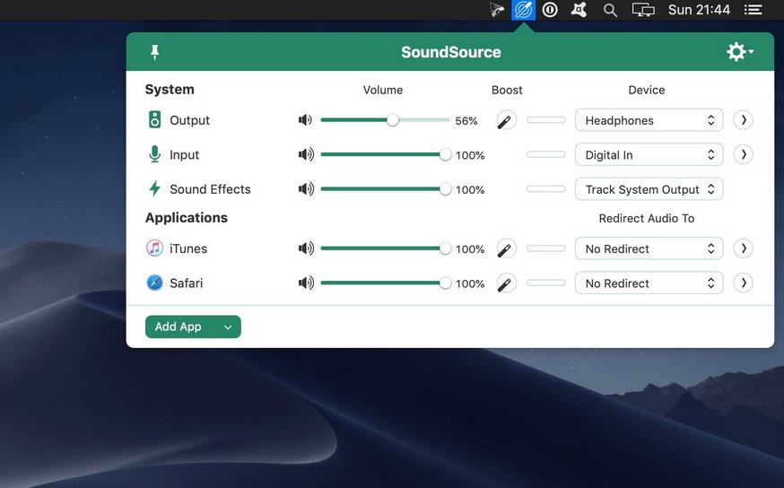 SoundSource 5 🔴 Крайне полезные программы для MAC OSx