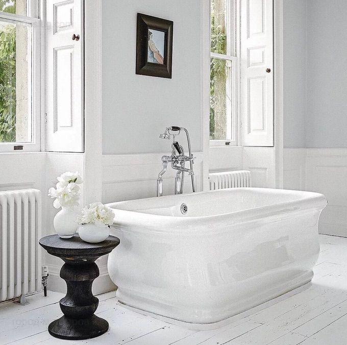 дизайн ванной белого цвета 🔴 10 идей дизайна которые украсят ванную комнату