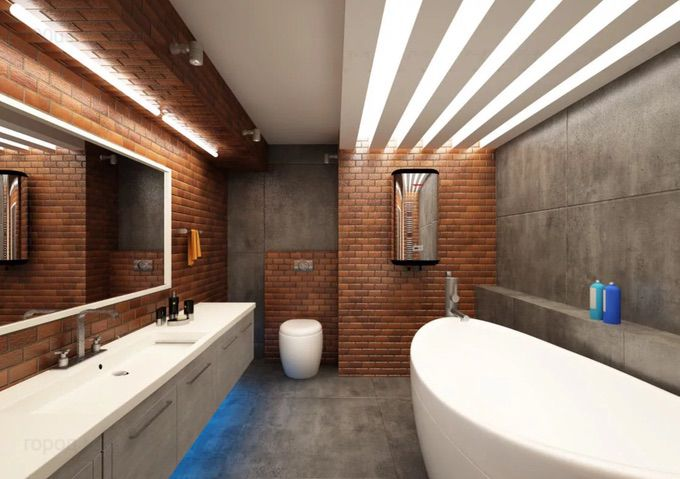 дизайн ванной комнаты плитка 🔴 10 идей дизайна которые украсят ванную комнату