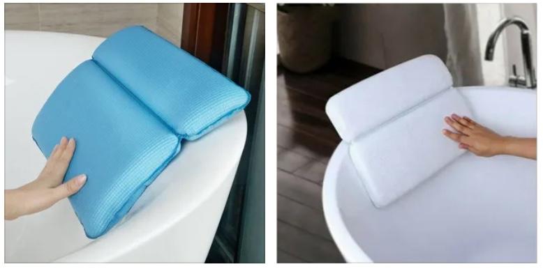 Специальная подушка для ванны 🔴 10 идей дизайна которые украсят ванную комнату
