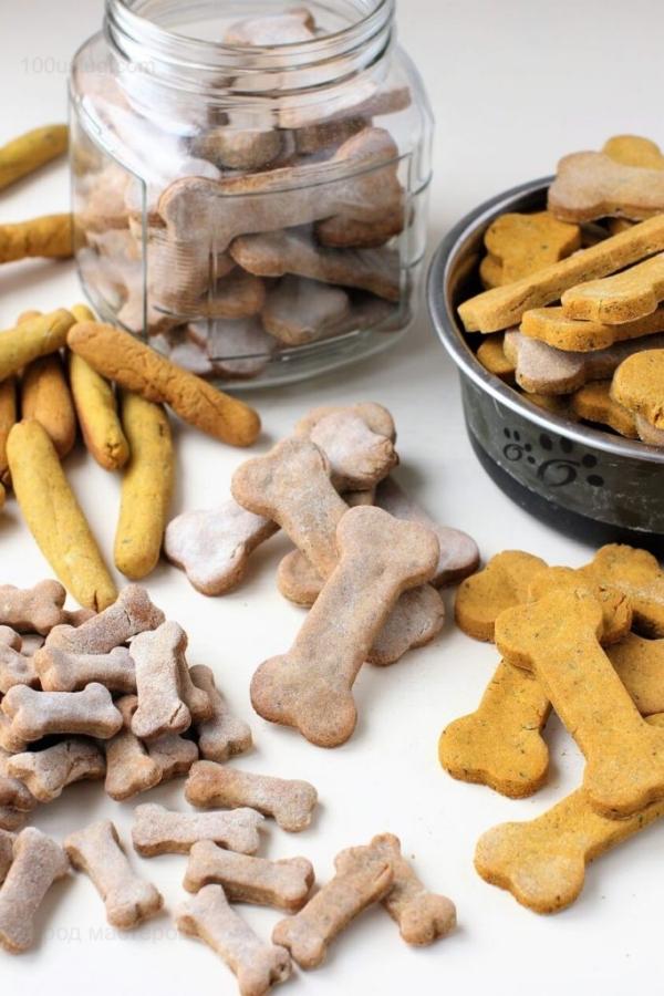 Печенье хрустяшки для собак🔴 Как сделать печенюшки для собаки своими руками