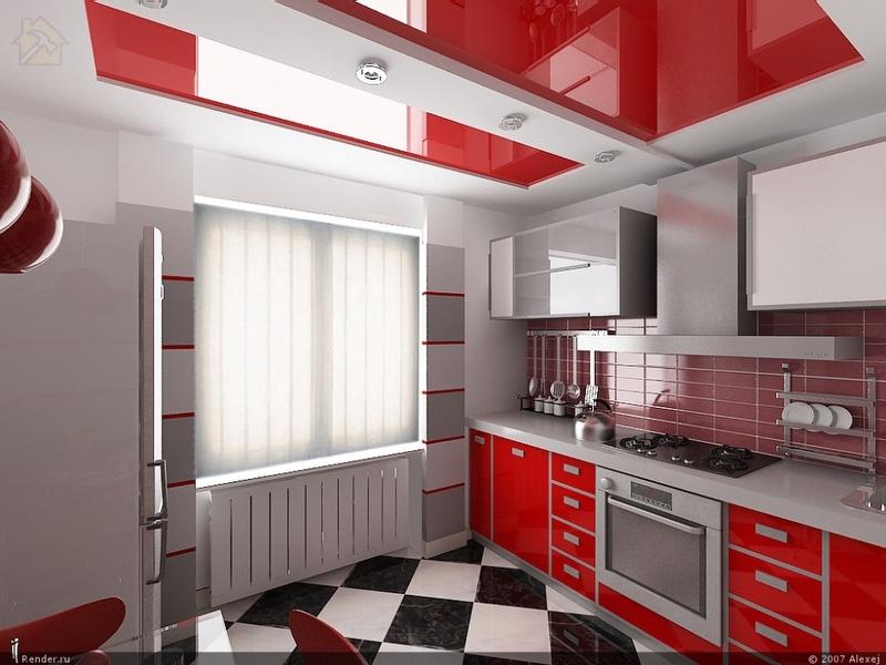 Потолок на кухне должен выдерживать высокие и низкие температуры 🔴 Какой потолок лучше сделать на кухне