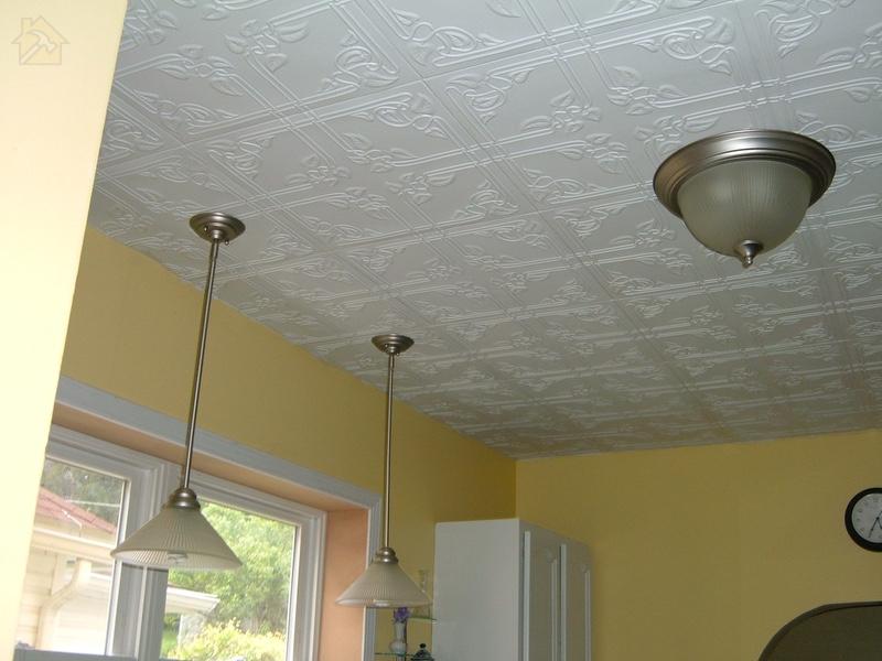 Панели из полистирола 🔴 Какой потолок лучше сделать на кухне