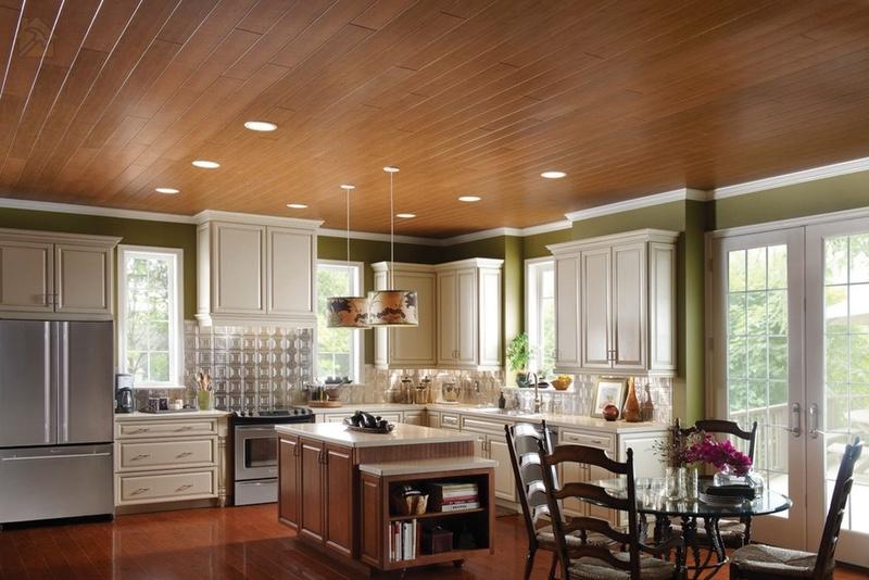 Панели МДФ 🔴 Какой потолок лучше сделать на кухне