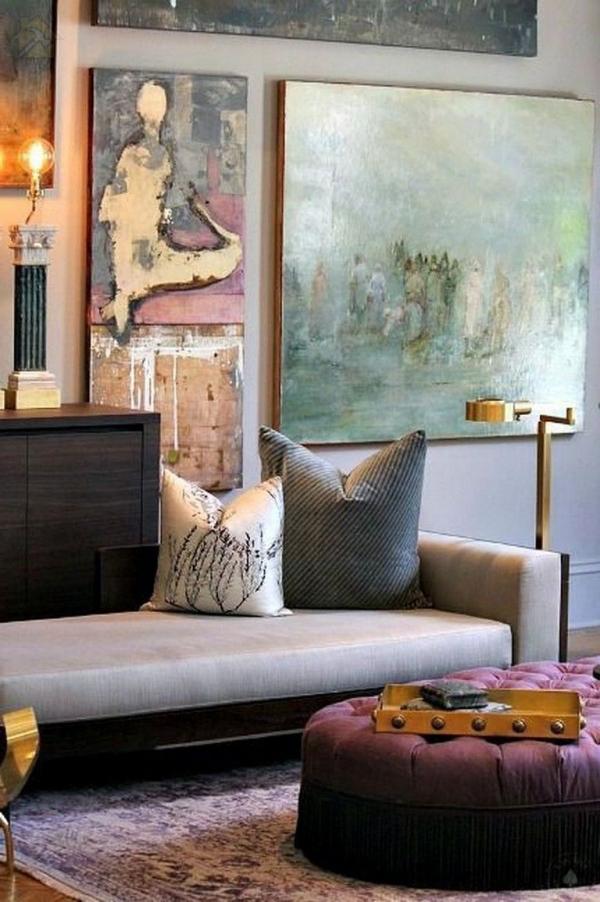 Оформление стен в гостиной идеи современного интерьера 🔴 Оформление стен в гостиной идеи современного интерьера