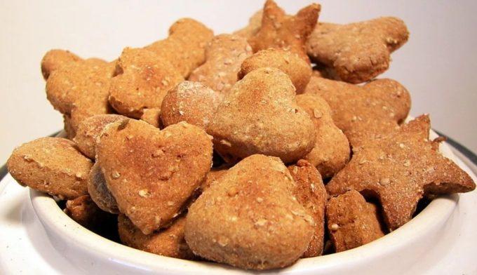 Печенье для собак из фарша🔴 Как сделать печенюшки для собаки своими руками