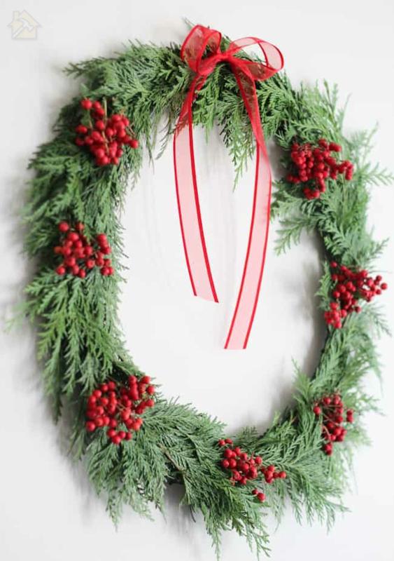 мастерица рождественский венок украсить ягодами мастерица рождественские украшения 🔴 Рождественский венок ТИНКЕР из подручных материалов и в необычном дизайне