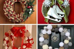 Рождественский венок ТИНКЕР из подручных материалов и в необычном дизайне
