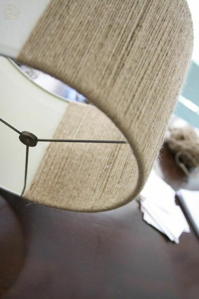 Стильный светильник из бичёвки своими руками 🔴 Стильный светильник из пеньковой веревки своими руками