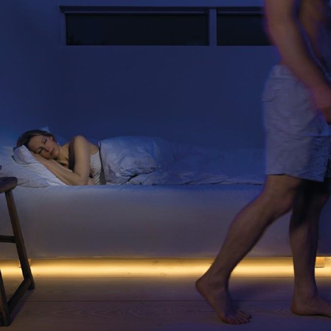 Энергосберегающее и романтичное напольное освещение 🔴 Редизайн с помощью света использование светодиодной ленты