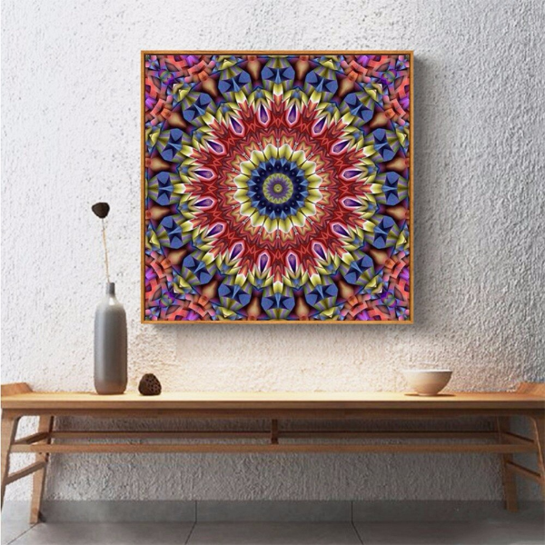 Рабочий стол для точечной окраски 🔴 Точечная роспись как вдохновение для декора и дизайна интерьера