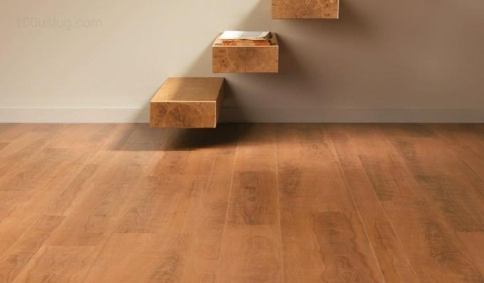 Виниловый ламинат - недорогая и практичная альтернатива деревянным или ламинатным полам