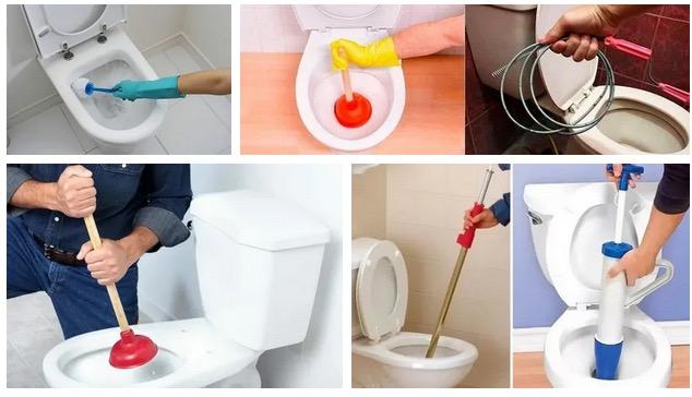 прочистка унитаза своими руками🔴 Прочистка унитаза своими руками