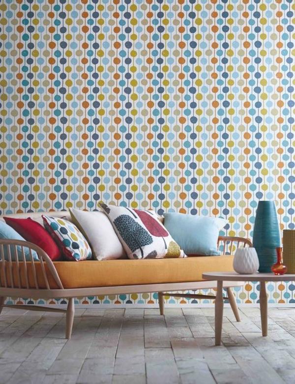 Как создать уютную комнату с геометрическими обоями 🔴 Геометрические обои как пространство в новом измерении