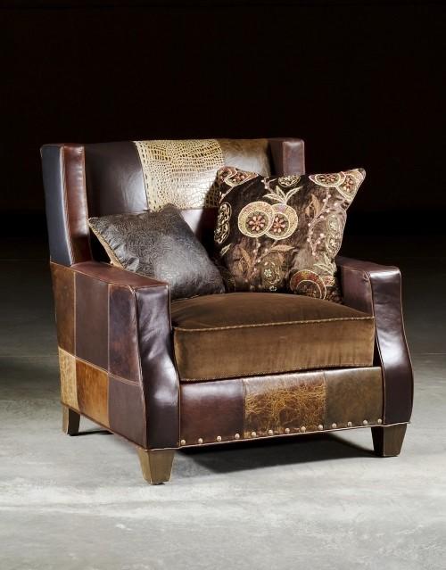 Кресло в стиле пэчворк возвращаются в современный дизайн интерьера 🔴 Кресло в стиле пэчворк возвращаются в современный дизайн