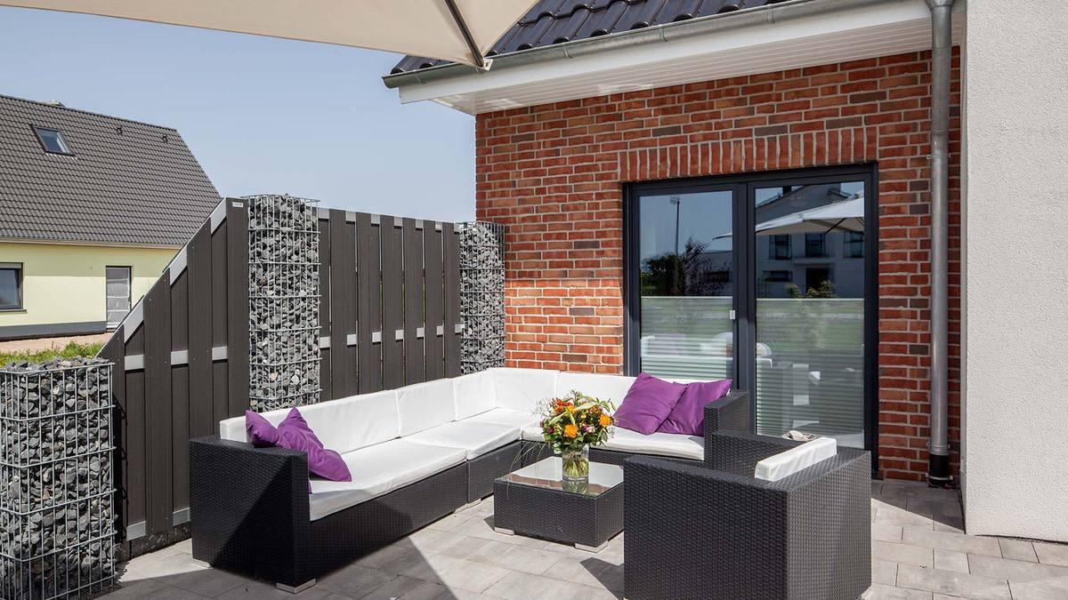Proekt 2 ehtazhnogo doma s garazhom 03🔴 Проект 2 этажного дома с гаражом Классический нордический стиль