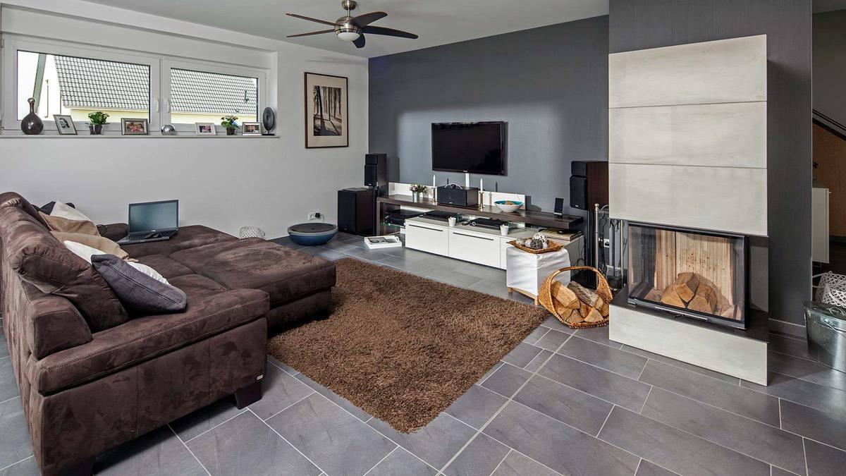 Проект 2 этажного дома с гаражом🔴 Проект 2 этажного дома с гаражом Классический нордический стиль