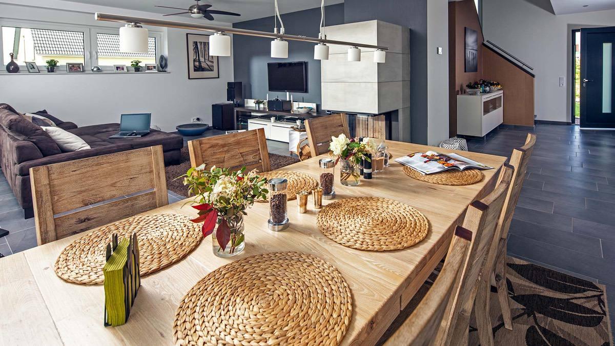 Proekt 2 ehtazhnogo doma s garazhom 05🔴 Проект 2 этажного дома с гаражом Классический нордический стиль