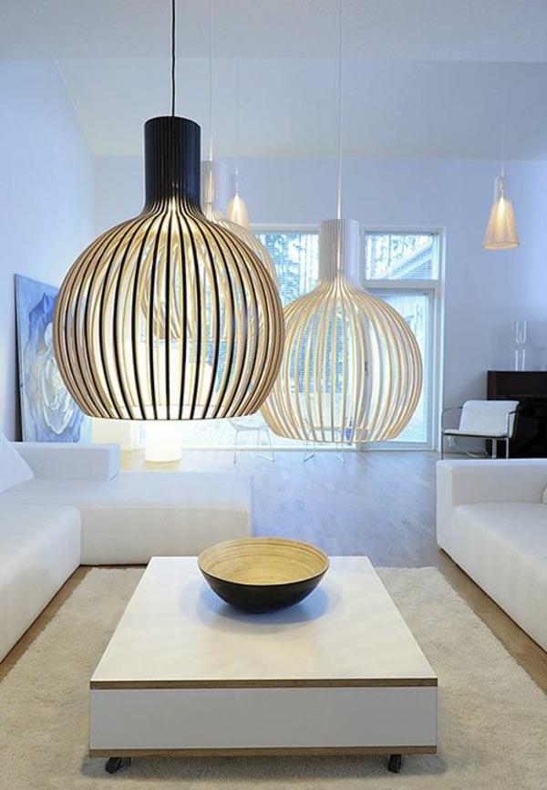 Сделайте подвесные светильники привлекательными в гостиной 🔴 Дизайнерские лампы визуально изменят любую жилую среду