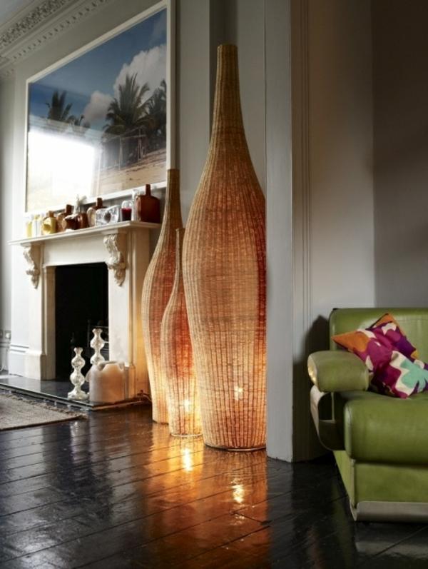Пусть гостиная купается в современном свете 🔴 Дизайнерские лампы визуально изменят любую жилую среду
