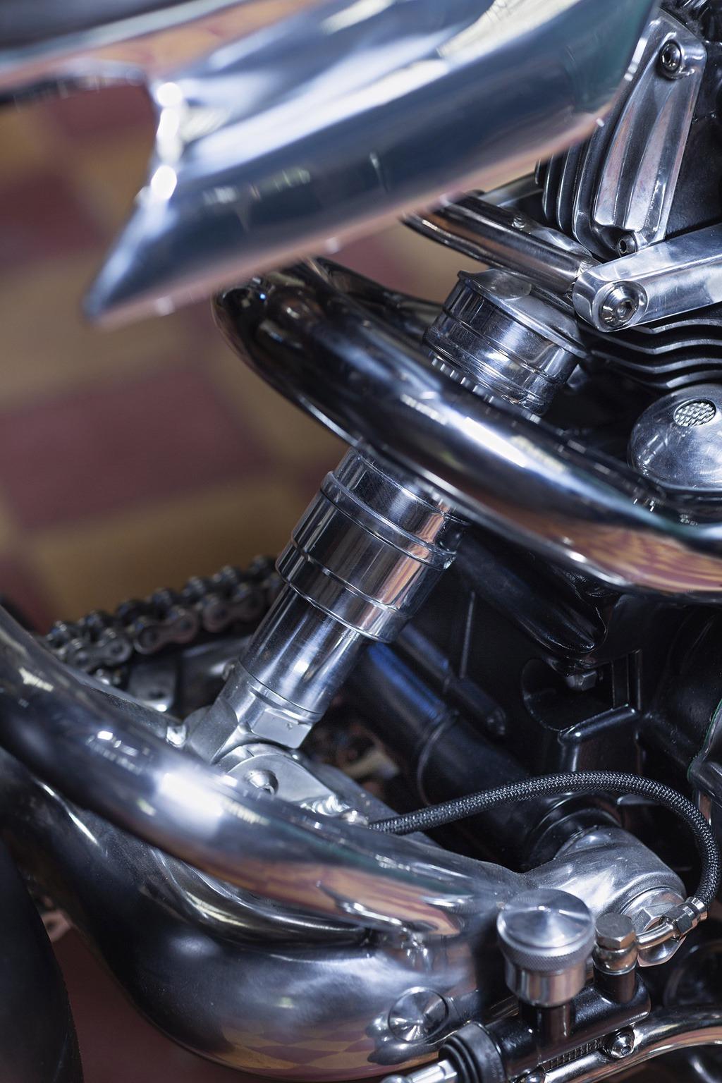 Ducati 750ss ot cevennes retro motors 12🔴 Мотошедевр Ducati 750SS от Cevennes Retro Motors