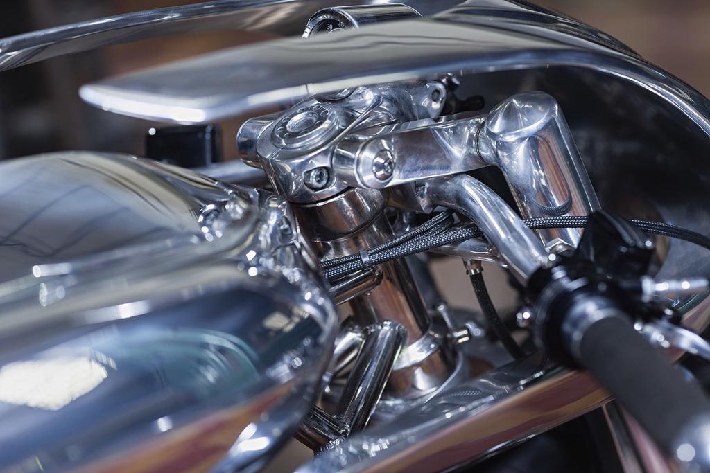 Ducati 750ss ot cevennes retro motors 13🔴 Мотошедевр Ducati 750SS от Cevennes Retro Motors